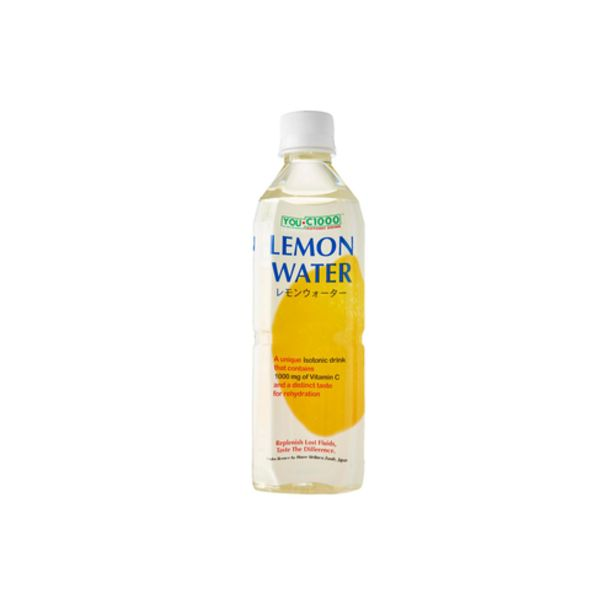 You c1000 Isotonic Lemon Water (500ml) offers at S$ 1.9