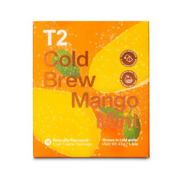 T2 MANGO MINT COLD BREW 15PK BOX offers at S$ 18