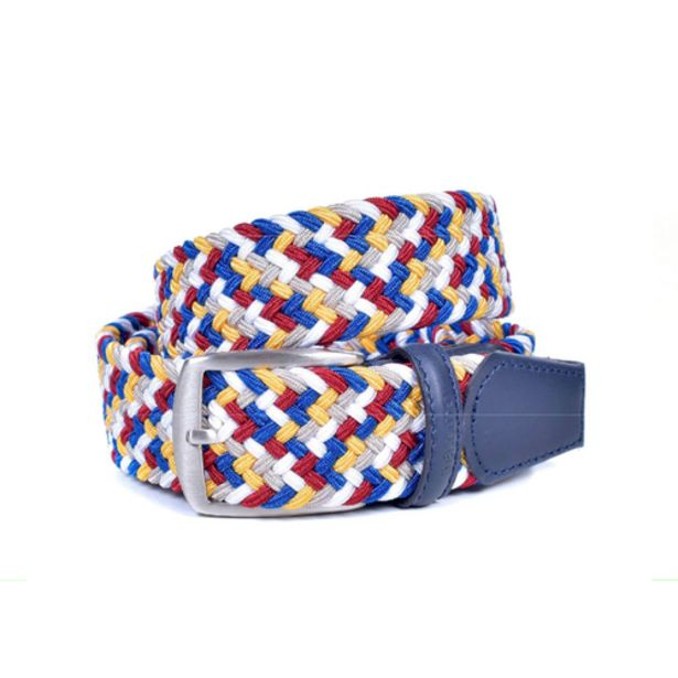 Miguel Bellido Woven Belt in Multi-coloured — Size L offers at S$ 129
