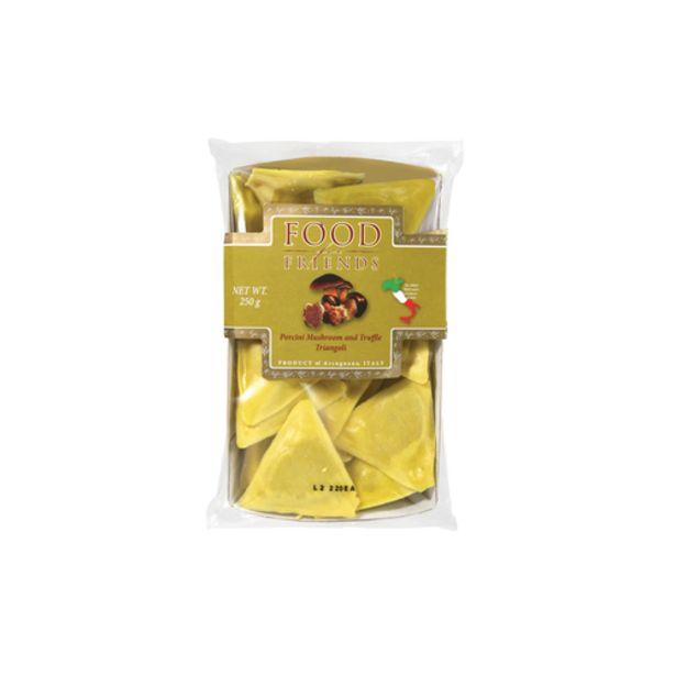 Food for Friends Porcini Mushroom & Truffle Triangoli (250g) offers at S$ 11.5