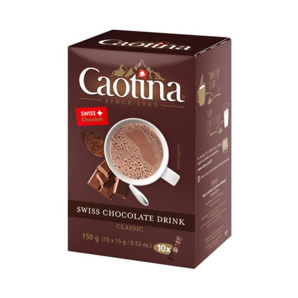 Caotina Chocolate Drink Mix (15g x 10's) offers at S$ 7.95