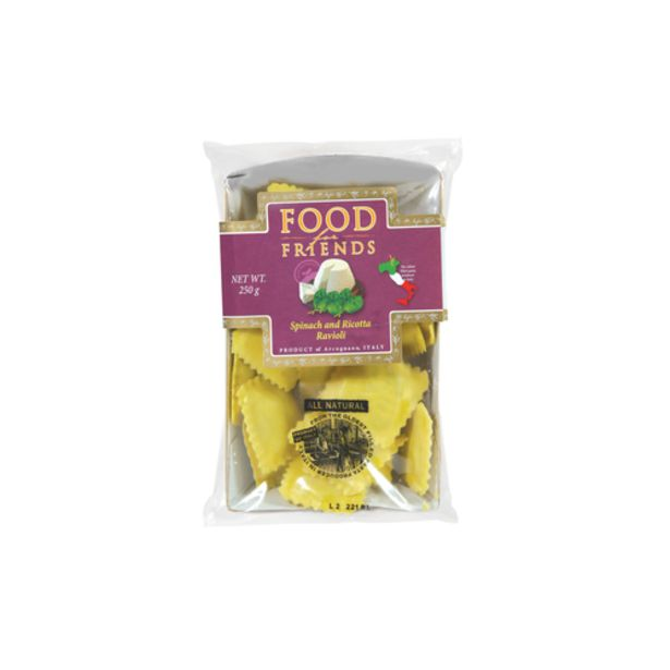 Food for Friends Spinach & Ricotta Ravioli (250g) offers at S$ 11.5
