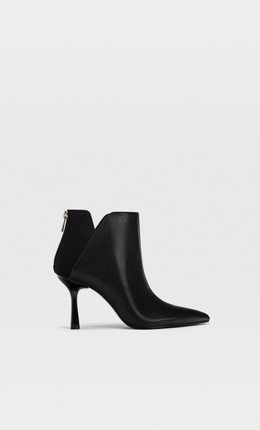 Black stiletto heel ankle boots offers at S$ 69.9