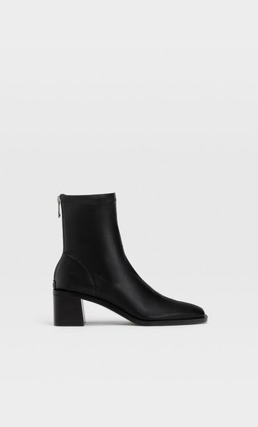 Black high heel ankle boots offers at S$ 89.9