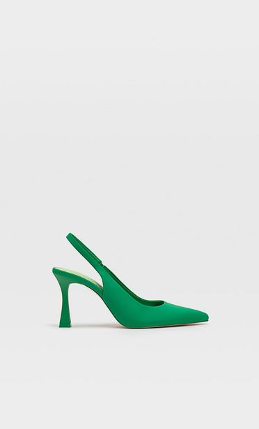 Heeled slingback shoes offers at S$ 59.9