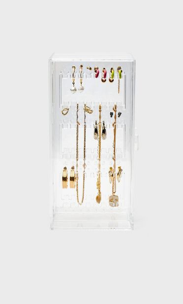 Vertical jewellery box with drawers offers at S$ 35.9
