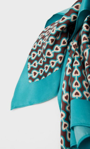 Geometric print scarf offers at S$ 22.9